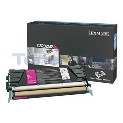 LEXMARK C520 C530 RP TONER CART MAGENTA 